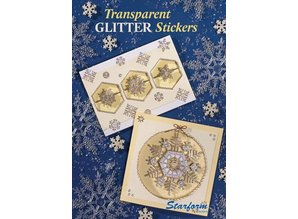 Bücher und CD / Magazines A5 Workbook: Transparent Glitter Stickers