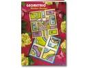 Bücher und CD / Magazines A5 projektmappe: Geometrisk Sticker Design