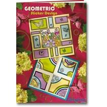 A5 projektmappe: Geometrisk Sticker Design