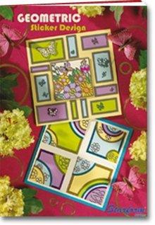 Bücher und CD / Magazines A5 cartella di lavoro: Geometrico Sticker design
