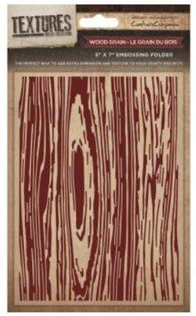 embossing Präge Folder Goffratura cartelle texture, caratterizzato da legno