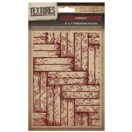 embossing Präge Folder Gofrado carpetas texturas, Escena Parket
