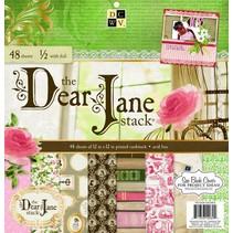 """Diseñador del bloque, """"Querida Jane"""""""