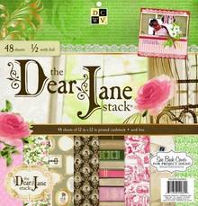 "DCWV und Sugar Plum Designerblock, ""Dear Jane""-"