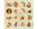DCWV und Sugar Plum Diseñador del arco, historia de la Navidad
