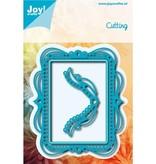 Joy!Crafts und JM Creation Stanz- und Prägeschablonen: Zierrahmen mit abgerunde Ecke