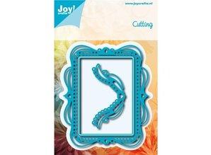 Joy!Crafts und JM Creation Stansning og prægning skabeloner: dekorative ramme med afrundede ender hjørne