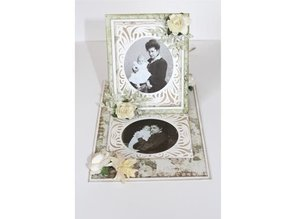 Joy!Crafts und JM Creation Punching and embossing templates: vintage frame around