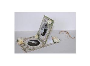 Joy!Crafts und JM Creation Punching and embossing templates: vintage frame around
