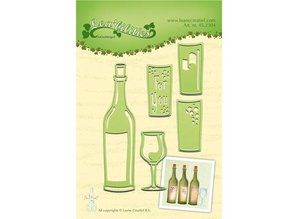 Joy!Crafts und JM Creation Punching and embossing templates: for fixed, bottle and glasses