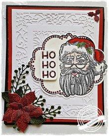 Creative Expressions Timbro di gomma: Tema Natale