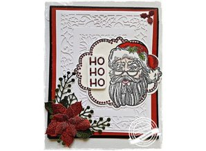 Creative Expressions Rubber stamp: Christmas Theme
