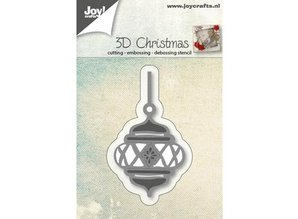 Joy!Crafts und JM Creation Punching and embossing templates: 3D Christmas Ball