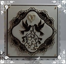 Wild Rose Studio`s Cutting and embossing stencils in Love