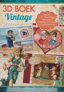 Studio Light A4 Buch: 3D Vintage