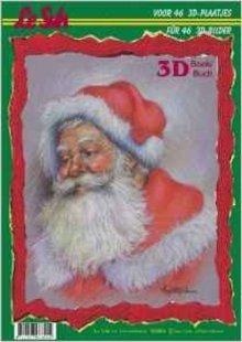 Bücher und CD / Magazines Papel A4: Tema de Navidad 3D