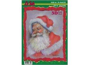 Bücher und CD / Magazines A4 Paper: 3D Christmas Theme