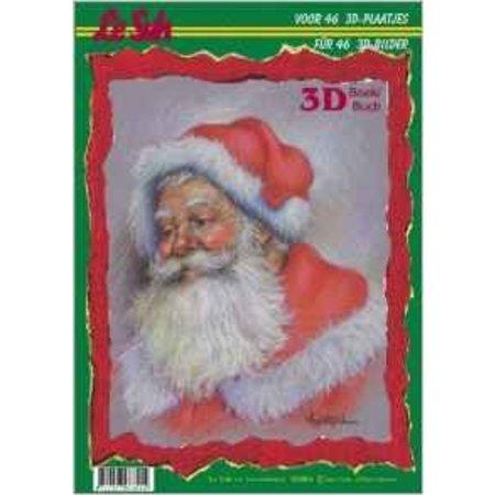 Bücher und CD / Magazines A4 Buch: 3D Weihnachtsmotive