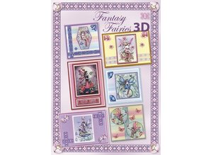 Studio Light A4 book: Fairy Fantasy Sheets