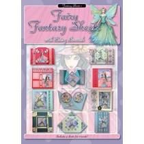 libro A4: Hojas de hadas de la fantasía