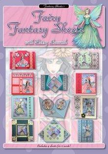 Studio Light libro A4: Hojas de hadas de la fantasía