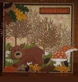 Marianne Design Estampado y Repujado plantilla, Marianne Diseño, Diseño: contorno del árbol Árbol +