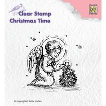 Gennemsigtige frimærker, engel