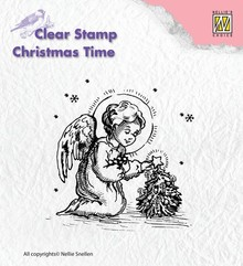 Nellie snellen Transparent stamps, angel