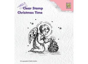 Nellie snellen Gennemsigtige frimærker, engel