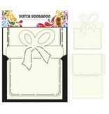 Dutch DooBaDoo A4 Skabelon: Card Art gavekort