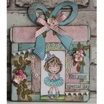 A4 Schablone: Card Art Geschenkkarte