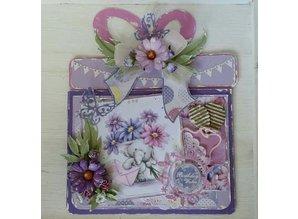 Dutch DooBaDoo A4 Schablone: Card Art Geschenkkarte