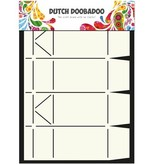Dutch DooBaDoo A4 Schablone: Card Art Box