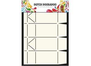 Dutch DooBaDoo A4 Template: Card Art Box