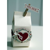 A4 Schablone: Card Art Box