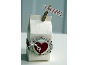 Dutch DooBaDoo Plantilla A4: Tarjeta de la caja de Arte