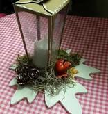 A4 Template: Card vak, lantaarn