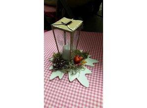 A4 Template: Card type box, lantern