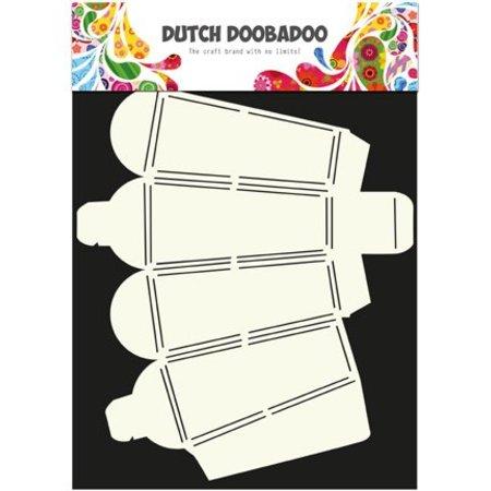 A4 Skabelon: korttype kasse, lanterne