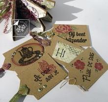 Joy!Crafts und JM Creation Gennemsigtige frimærker, Love Home
