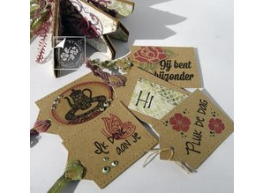 Joy!Crafts und JM Creation Gennemsigtige frimærker, glæde, kærlighed Hjem