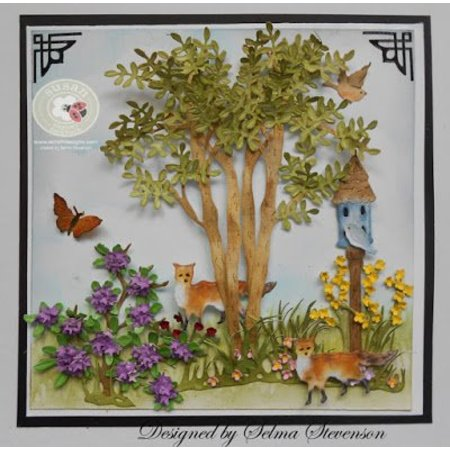 Elisabeth Craft Dies Elizabeth Craft Design The Country Scapes, Apple Tree