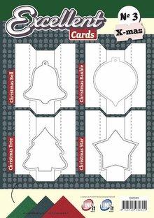 KARTEN und Zubehör / Cards 12 Excellente Doppelkarten + Layouts