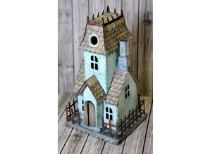 Punching and embossing template: Victorian Village