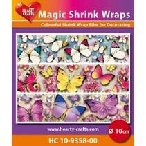 Magische Schrumpffolien, Schmetterling (⌀ 10 cm)