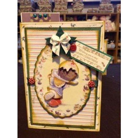Stempel / Stamp: Transparent Gennemsigtige frimærker: julekage