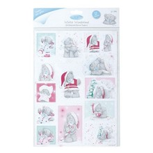 Me to You A4 skinnede Die Cut Toppers (2PK), Winter Wonderland (Sukker Glasur)