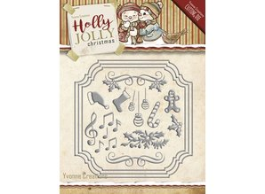 Amy Design Punching and embossing template: Set of Christmas designs