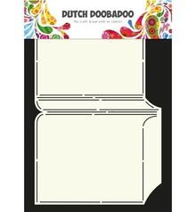 Dutch DooBaDoo A4 Schablone: Card Art, für Karten A6