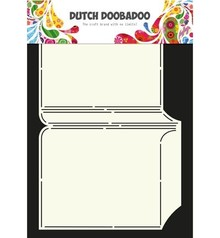 Dutch DooBaDoo A4 Skabelon: korttype, for kort A6